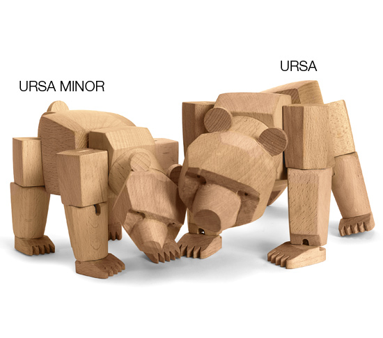 Animal En Bois Articul U00e9 Ursa The Bear