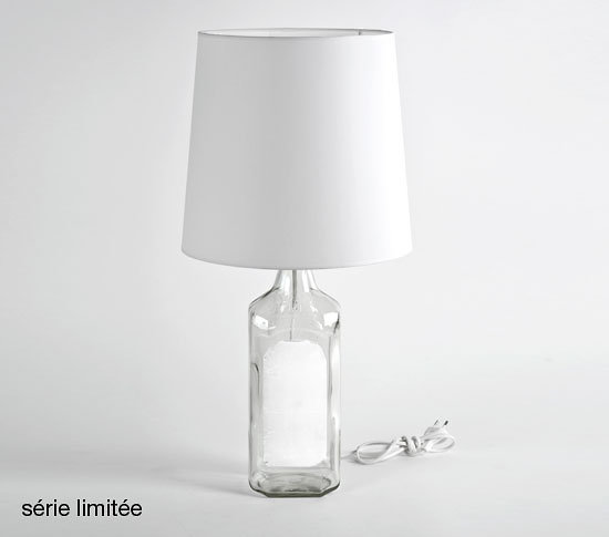 lampe bouteille maison martin margiela. Black Bedroom Furniture Sets. Home Design Ideas