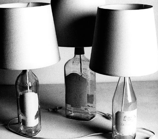 LAMPE BOUTEILLE Vintage MAISON MARGIELA