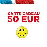 CHEQUE CADEAU 50 EUR