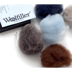 WOOLFILLER- KIT DE REPRISAGE