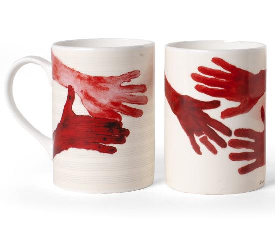 COFFRET 4xMUG par Louise Bourgeois