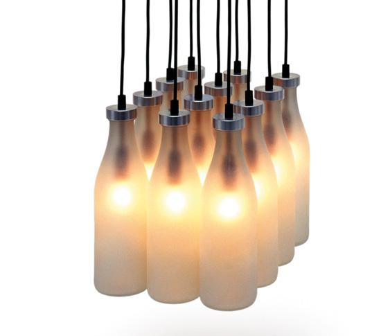 MILK BOTTLE LAMP 12