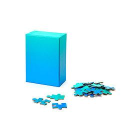 GRADIENT PUZZLE BLEU/VERT