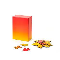 GRADIENT PUZZLE ROUGE/JAUNE