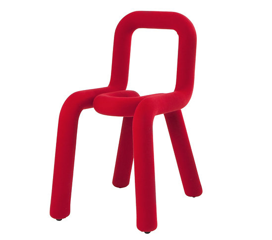 CHAISE BOLD ROUGE