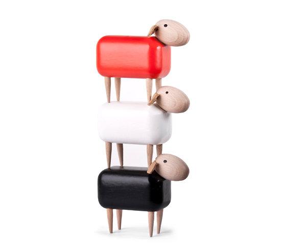 MICRO WOODEN SHEEP - PETIT