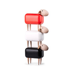 MICRO WOODEN SHEEP - PETIT