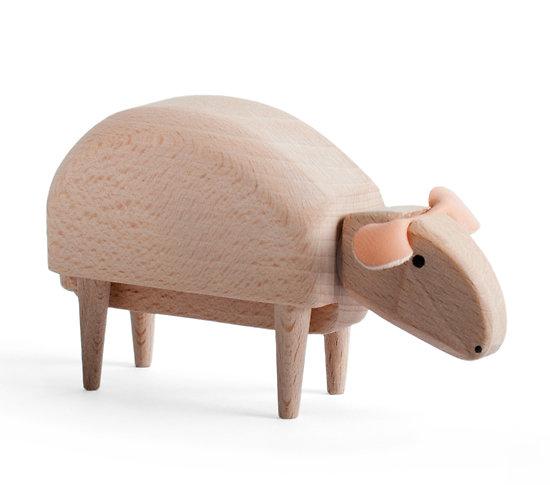 MICRO WOODEN SHEEP - MEDIUM