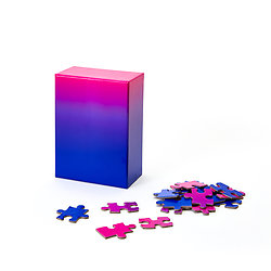 GRADIENT PUZZLE ROSE/BLEU