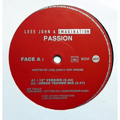 LEEE JOHN & IMAGINATION