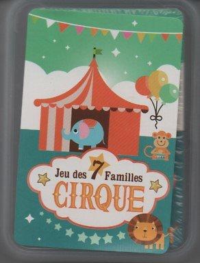 JEU DES 7 FAMILLES CIRQUE