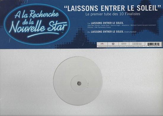A LA RECHERCHE DE LA NOUVELLE STAR