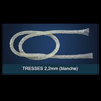 FiberForce - Tresse Blanche 2,0x150mm