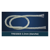 FiberForce - Tresse Blanche 2,0x150mm
