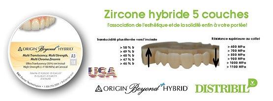 Disques Zircone Origin Beyond Hybrid