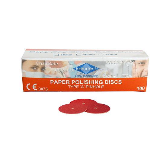 Kemdent - Paper Disque 22mm (100 Pcs)