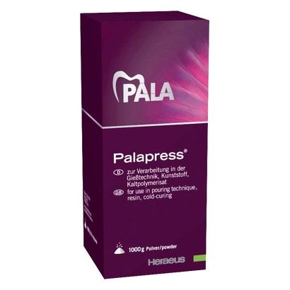 Kulzer- Poudre Palapress Pink (1000 Gr)