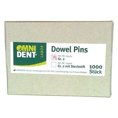 Omnident - Dowel - Pins (1000pcs) 72475