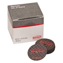 Renfert - Disques Dynex 05x22mm (20 pcs) 570522