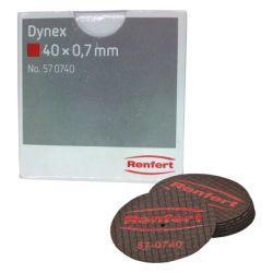 Renfert - Disques Dynex 07x40mm (20 pcs) 570740