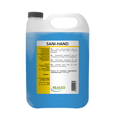 Realco - Sani-Hand Désinfectant Pour Les Mains 5L