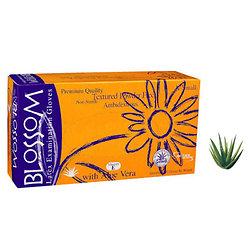 Blossom - Gants Latex Aloe Vera SMALL (100 pcs)