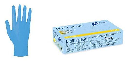 Meditrade - Gants Nitriles Bleus SMALL (100 pcs)