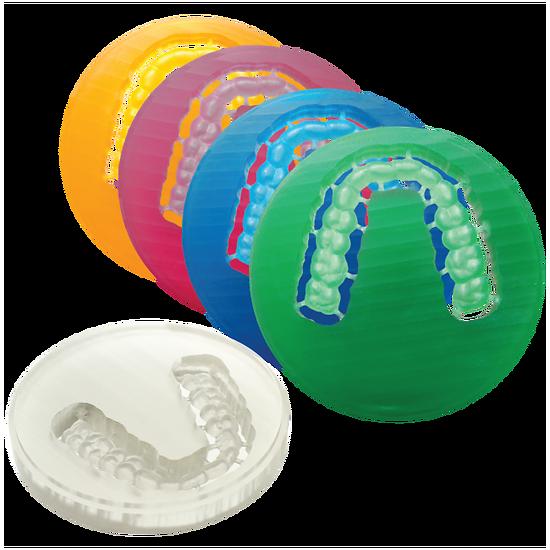 Polident - Disque transpa pour gouttières 20mm