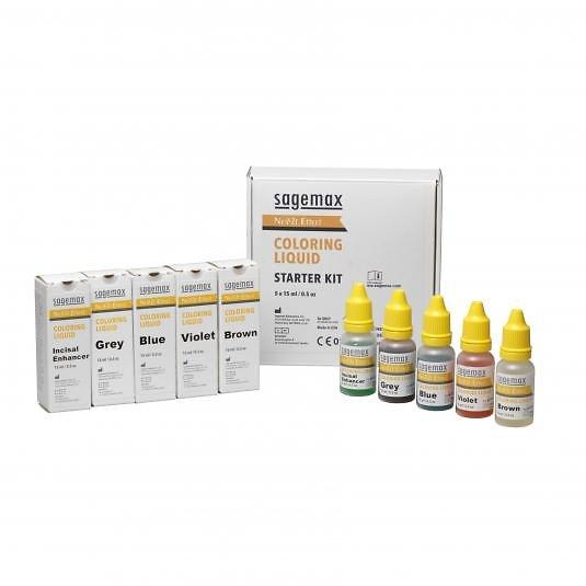 Sagemax - Nexxzr Effect Liquides Starter Set