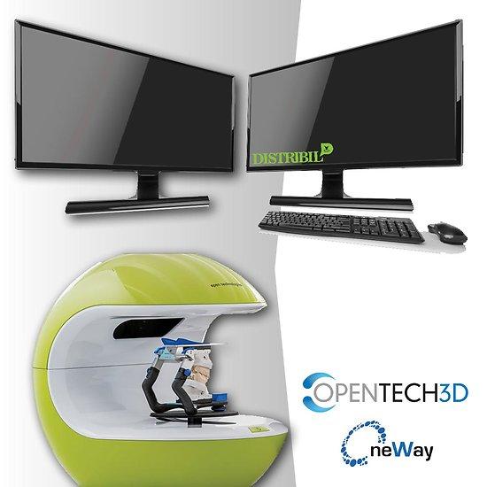 Kit Scanner Neway + PC