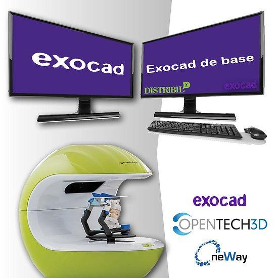 Kit Scanner Neway + PC + Exocad Base