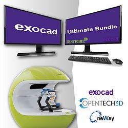Kit Scanner Neway + PC + Exocad Ultimate Bundle
