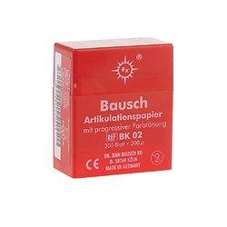 Bausch - Papier Articulation Rouge BK02