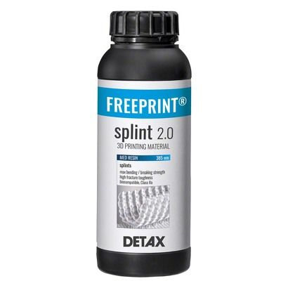 Detax - Freeprint Splint 2.0 Transpa (1kg)