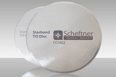 Scheftner - Disque Titane Starbond Ti5 10 mm