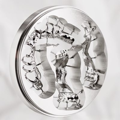 Scheftner - Disque Chrome Cobalt 12 mm
