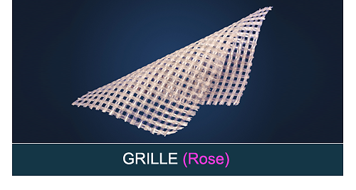 FiberForce - Grille Rose
