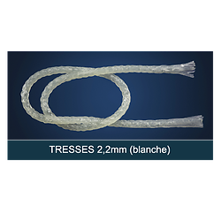 FiberForce - Tresse 2,2x150mm