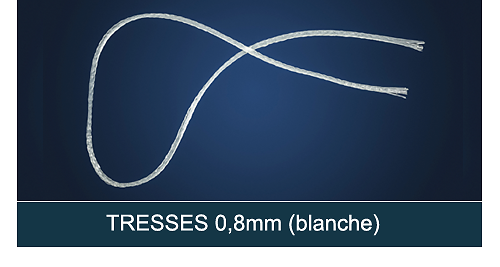 FiberForce - Tresse 0,8x150mm