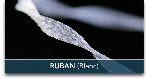 FiberForce - Ruban Blanc 2,0mmx0,5mmx150mm