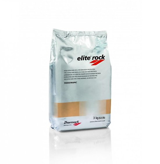 Zhermack - Plâtre Classe IV Elite Rock Silver Grey (3kg)