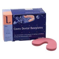 Cavex - Plaques Base Rose Inf (100pcs)