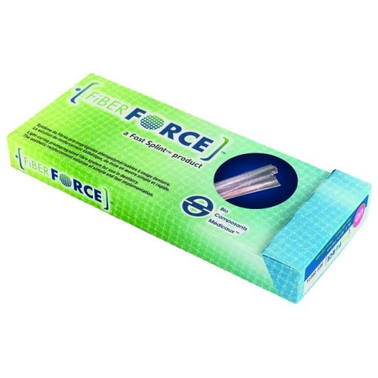 Fiber Force - Tresse Blanche 2,2x150mm (2x)