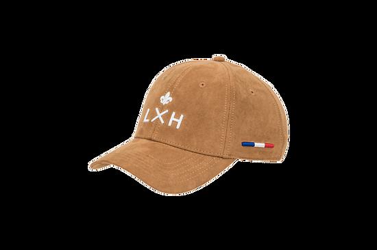 Casquette LXH suédine