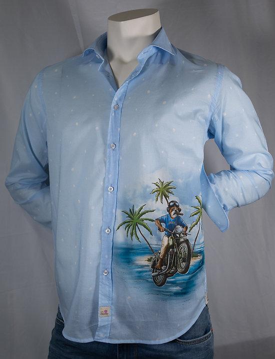 Chemise fantaisie Panama