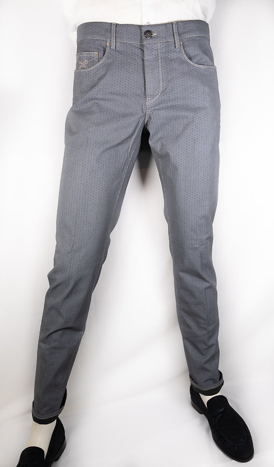 Pantalon 5 poches panama