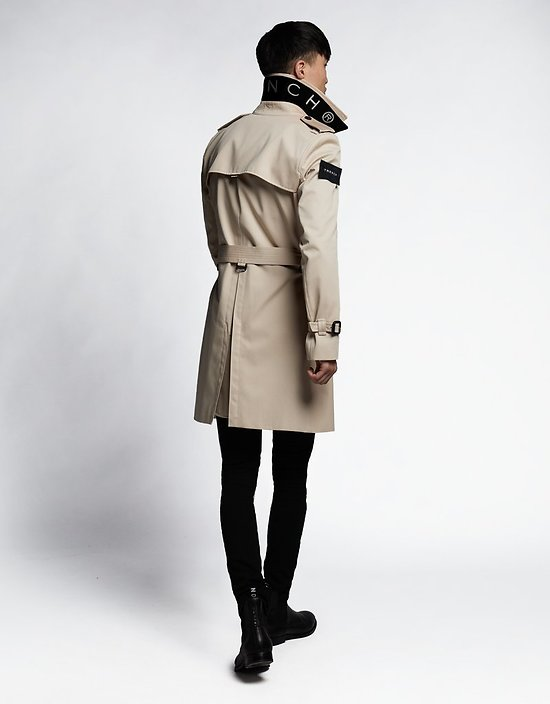 Impermeable trench london