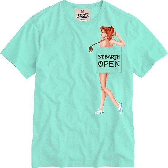 T.shirt lin mc2 st barth