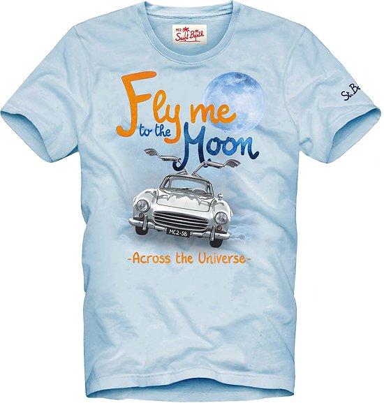 T.shirt fly moon MC2 St Barth